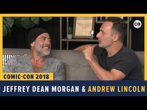 Jeffrey Dean Morgan and Andrew Lincoln  SDCC 2018 Exclusive