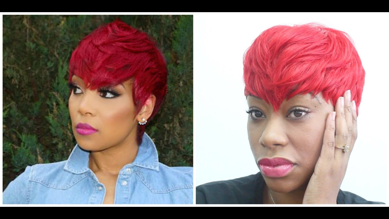 Monica inspired red quick weave hair tutorial chimerenicole youtube monica inspired red quick weave hair tutorial chimerenicole pmusecretfo Choice Image
