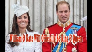 royal announcement william and kate will officially be king and queen