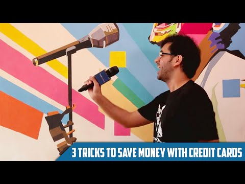 3 Tricks To Save Money With Your Credit Card!