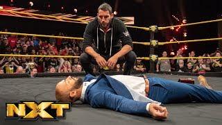 Johnny Gargano lays out Ricochet: WWE NXT, Jan. 9, 2019