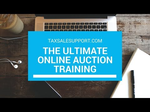 "The Ultimate ""Online Auction"" Real Estate Training!"