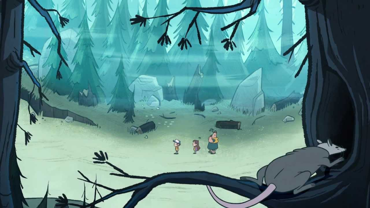 Gravity Falls Hd Wallpaper Gravity Falls Official Trailer Hd Youtube
