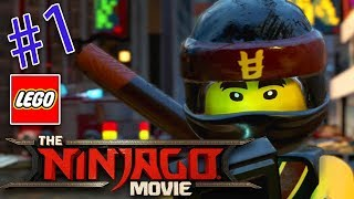 LEGO NINJAGO MOVIE VIDEOGAME on XBOX ONE / 2 PLAYER GAMEPLAY / WALKTHROUGH / KAI AND COLE TEAM UP