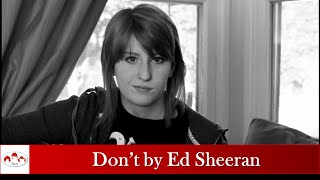 Don't by Ed Sheeran-- (CLEAN) Cover by Cam Caddell