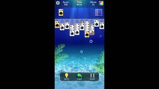 Playing Classic Solitaire With Fast Move