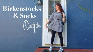 Birkenstocks and Socks Outfit Ideas