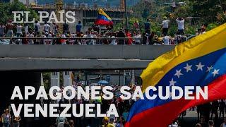 Venezuela sufre secuelas de los apagones