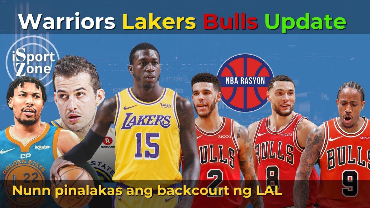 Steph & Klay & Warriors, may Bagong Stretch Bigs. Kendrick Nunn Lakers Na! Bulls nag LEVEL UP.