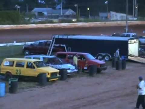 minivan racing susquehanna speedway park