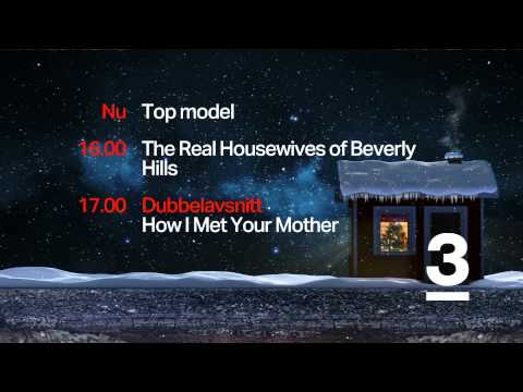 TV3 HD Sweden - Christmas Continuity / Ident 2014 [King Of TV Sat]