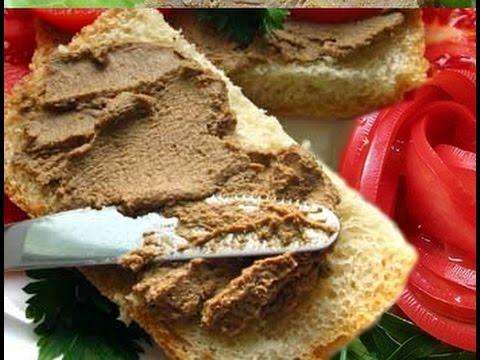 печеночный паштет по еврейски рецепт