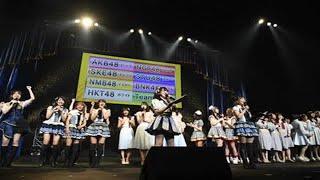 AKB48 世界選抜総選挙で惜しくもランクインを逃したメンバーによる「AKB...