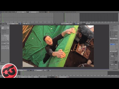 Beginner Blender VFX Tutorial Greenscreen - Masking!