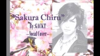 GACKT Sakura Chiru サクラ 散ル Vocal Cover