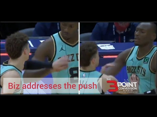 """Hornets Bismack Biyombo \""""That\'s my little brother\"""" 