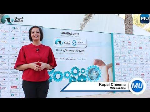 MetalsUpdate at the Arab International Aluminium Conference 2017