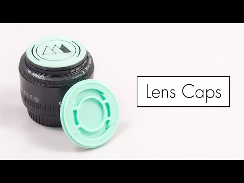 Tutorial : Make a Camera Lens Cap with a Built-in Spring