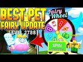 NEW FAIRY WHEEL GIVES BEST FAIRY PET IN ICE CREAM SIMULATOR UPDATE!! (Roblox)