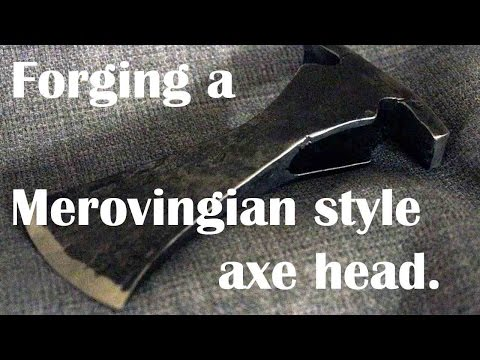 Blacksmithing: Making a Merovingian style warrior axe.