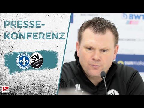 Pressekonferenz | vor dem Spiel | SV Darmstadt 98 - SV Sandhausen