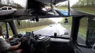 April 20, 2019/341 Trucking Climbing Cookville Tennessee Hill