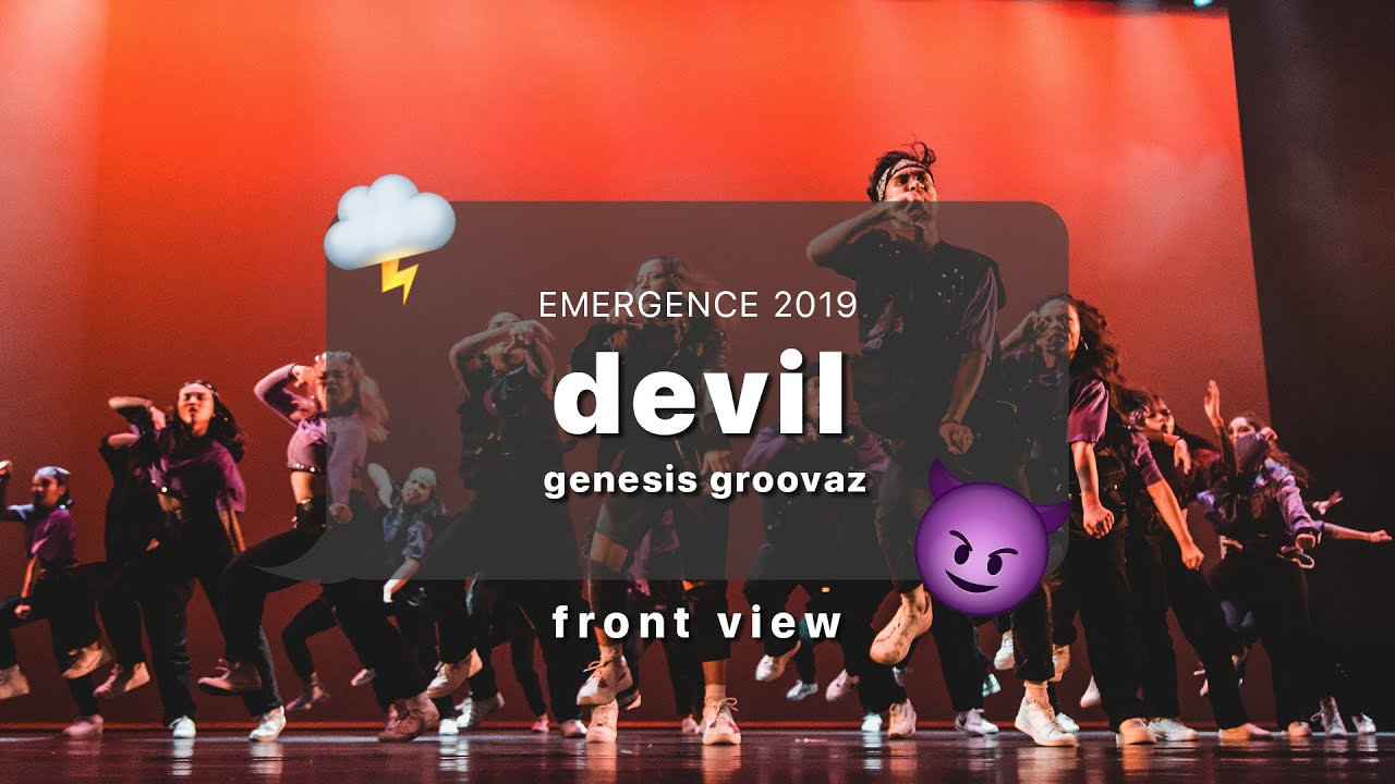 Emergence 2019 | Front View | Genesis Groovaz: Devil