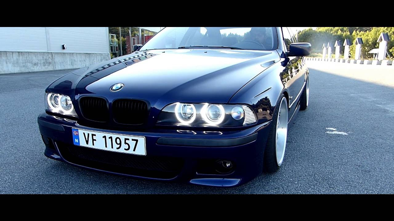 bmw e39 blue youtube. Black Bedroom Furniture Sets. Home Design Ideas