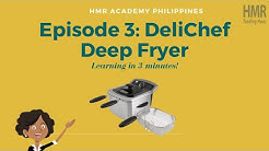 Deli Chef Deep Fryer