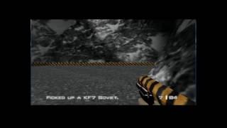 Goldeneye64 and Doom64 with Psychedelic Eyeball