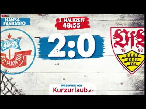 2:0 sensations SIEG | Hansa : Stuttgart | Zusammenfassung | Rostocker Fankurve