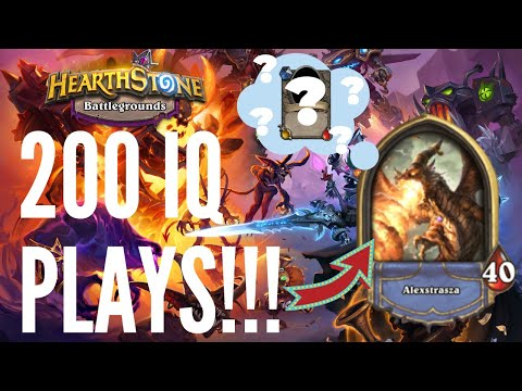 200 IQ PLAYS!   Hearthstone Battlegrounds