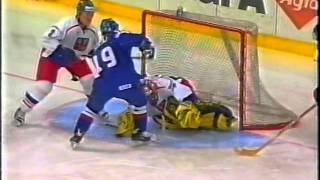 MS v hokeji - Rusko 2000 finále Česko : Slovensko 5:3