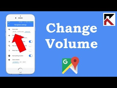 How To Change Volume Google Maps Iphone Youtube