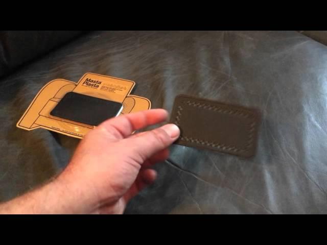 Masta Plasta - Leather Patch