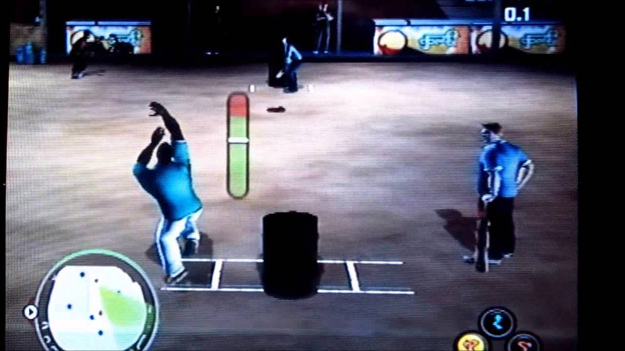 Street Cricket Champions Intro and Game play PS2