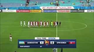 Узбекистан   Северная Корея 1   0 Кубок Азии 2015