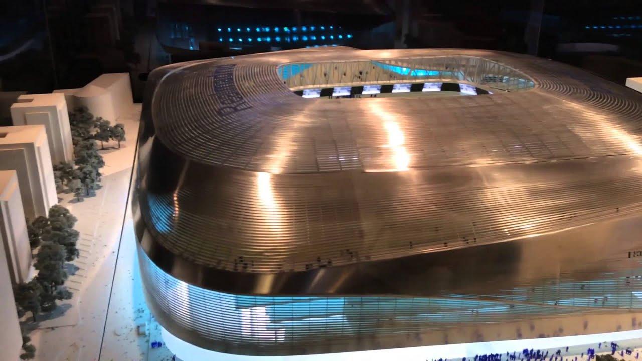El nuevo estadio que van a construir santiago bernab u for Estadio bernabeu puerta 0