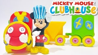 Disney Mickey Mouse Clubhouse Toys Choo Choo Train Playset Video by Disney Junior Toys