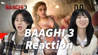 Do You Love Me Reaction by Korean girls | Baaghi 3 | Disha P | Tiger S, Shraddha K