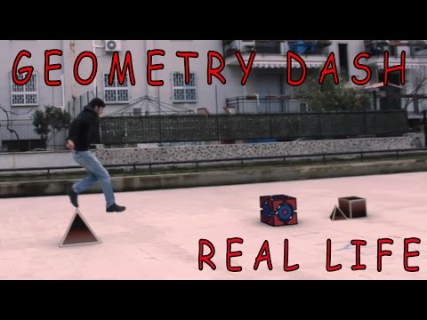 Geometry Dash - Real Life Level