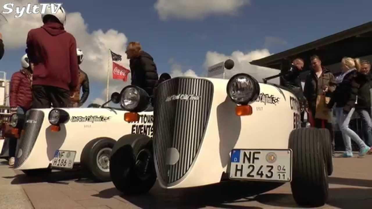 auf sylt sind motorisierte seifenkisten unterwegs - youtube