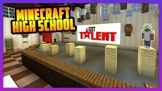 TRYOUTS FOR THE SCHOOL TALENT SHOW (Parkour)! - Minecraft High School
