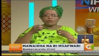 Bi Msafwari: Kufariji jamaa waliofiwa