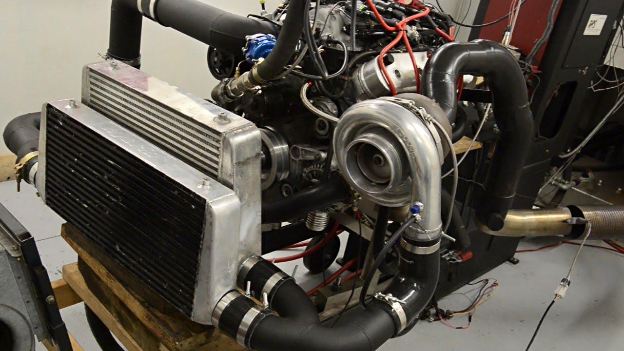 1000+hp turbo L98 V8 Dyno Tuning by A P S