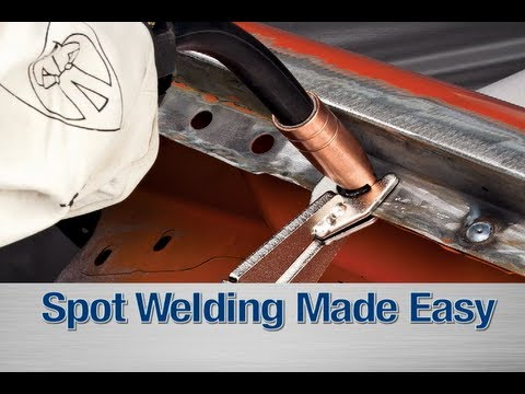 Spot Weld Kit How To Diy With Your Mig Welder From