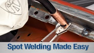 spot weld kit how to diy with your mig welder from eastwood