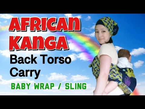How To Carry Your Baby Using An African Kanga Doovi