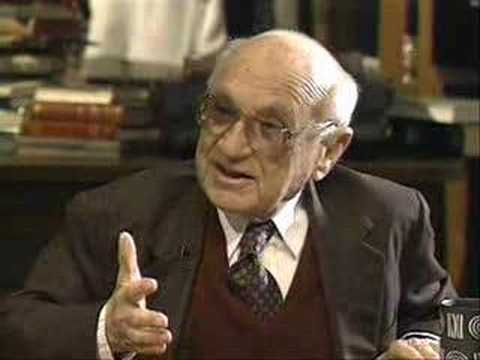 Milton Friedman on Libertarianism   (Part 1 of 4)