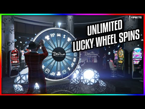 How To Get UNLIMITED Spins At The Lucky Wheel In GTA 5 Online!